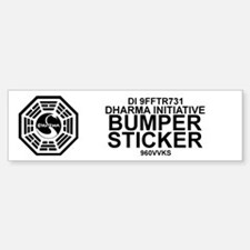 Dharma Initiative Bumper Bumper Sticker
