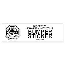 Dharma Initiative Bumper Sticker