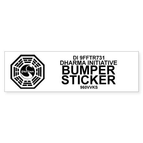 Dharma Initiative Sticker (Bumper)