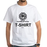 Losttv Mens Classic White T-Shirts