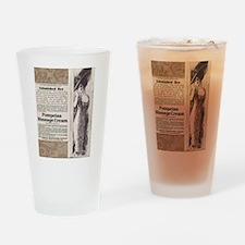Pompeian Cream 1909 ad Drinking Glass