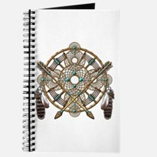Turquoise Silver Dreamcatcher Journal