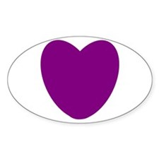 Purple Heart Decal