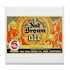 Canada Beer Label 10 Tile Coaster