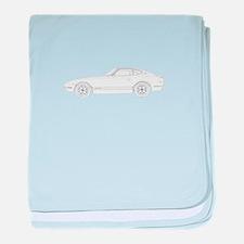 Datsun 240Z baby blanket