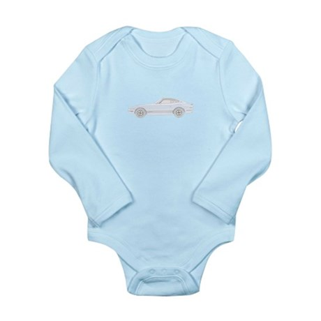 Datsun 240Z - blue Long Sleeve Infant Bodysuit