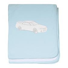 Nissan Skyline GT-R baby blanket