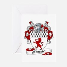 Moncrief Coat of Arms Greeting Cards (Pk of 10