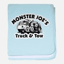 Monster Joe's Truck and Tow baby blanket