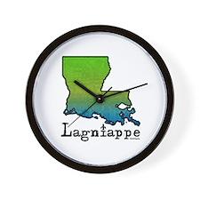 Louisiana Lagniappe Wall Clock