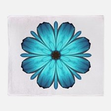 Kaleidoscopic Butterfly Throw Blanket