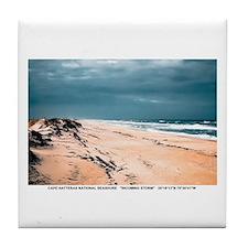 Cape Hatteras National Seashore Tile Coaster