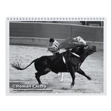 Bullfight Wall Calendar