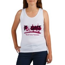 Fight Throat Cancer Cause Women's Tank Top