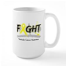 Fight Testicular Cancer Cause Mug