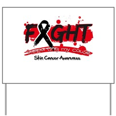Fight Skin Cancer Cause Yard Sign