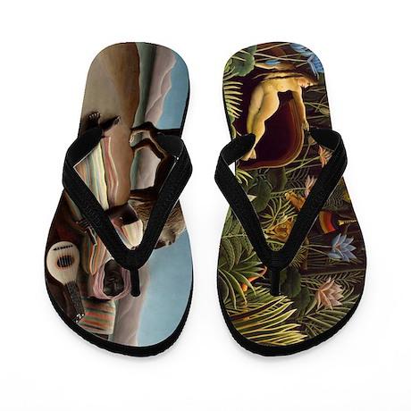 Rousseau Flip Flops