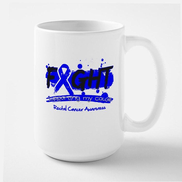 Fight Rectal Cancer Cause Mug