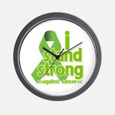 I Stand Against Lymphoma Wall Clock