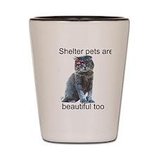 Shelter Pets Shot Glass