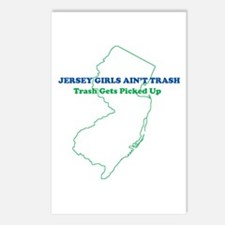 Jersey Girls - BLUE Postcards (Pack of 8)