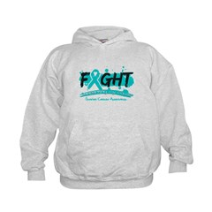Fight Ovarian Cancer Cause Hoodie