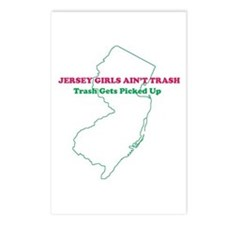 Jersey Girls - PINK Postcards (Package o
