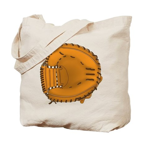 catcher's mitt Tote Bag