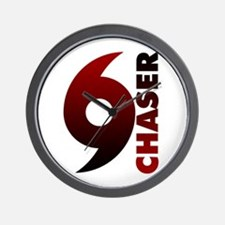Hurricane Chaser Wall Clock