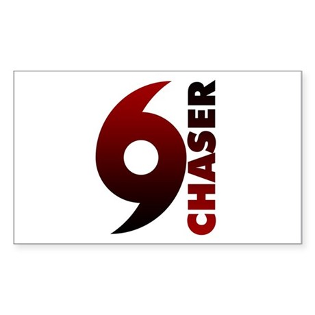 Hurricane Chaser Rectangle Sticker