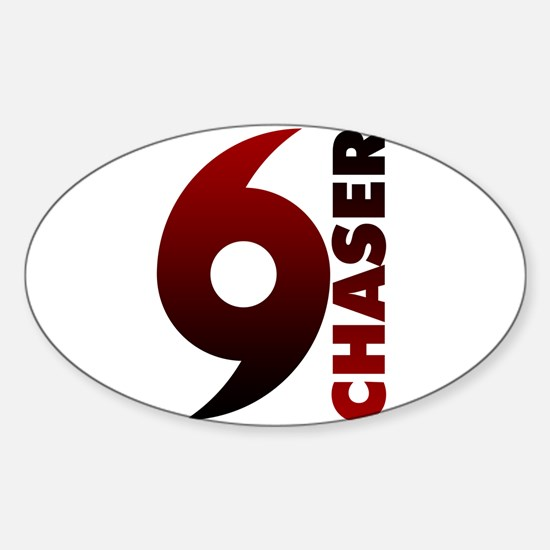 Hurricane Chaser Oval Decal