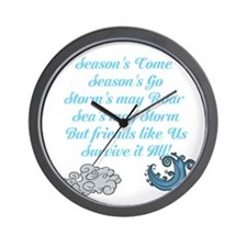 Funny Anxiety disorders Wall Clock