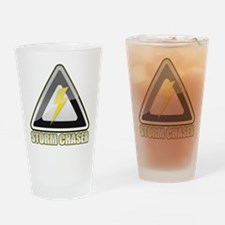 Storm Chaser Lightning Drinking Glass