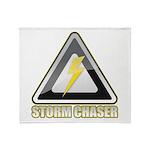Storm Chaser Lightning Throw Blanket