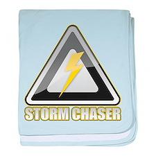 Storm Chaser Lightning baby blanket