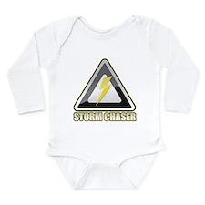 Storm Chaser Lightning Long Sleeve Infant Bodysuit