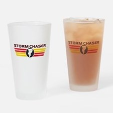 Storm Chasers Logo Bar Drinking Glass