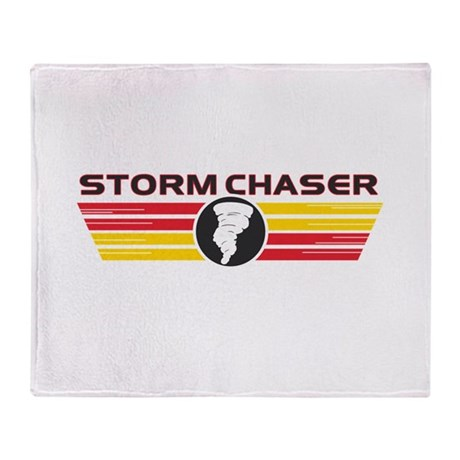 Storm Chasers Logo Bar Throw Blanket