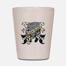 Storm Chasers Banner Shot Glass