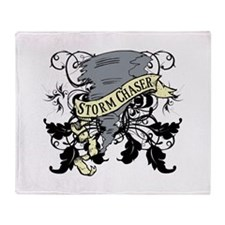 Storm Chasers Banner Throw Blanket
