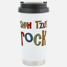 Cute Shitzu Travel Mug