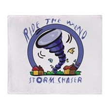 Ride the wind Throw Blanket