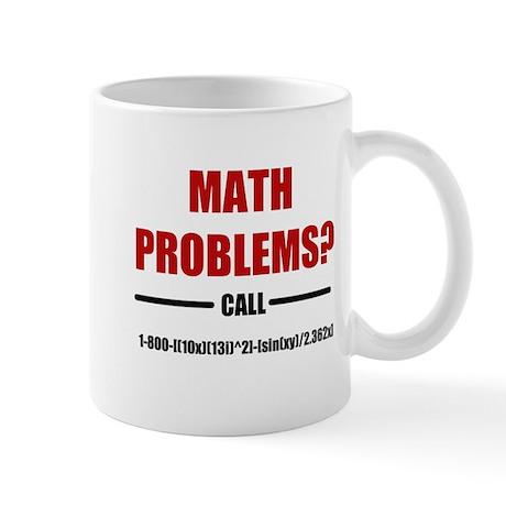 Math Problems Mug