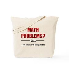 Math Problems Tote Bag