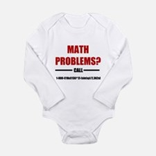 Math Problems Long Sleeve Infant Bodysuit