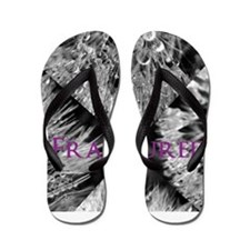 Funny Anxiety disorders Flip Flops