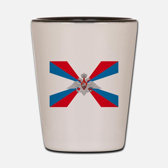 Russian Defense Ministry Flag Shot Glass