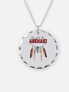 Proud to be Abenaki Necklace