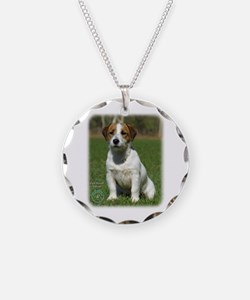 Jack Russell Terrier 9M097D-068 Necklace