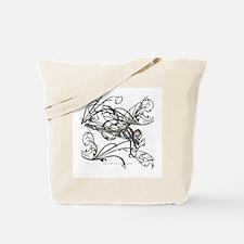 Gem Dragonfly Tote Bag